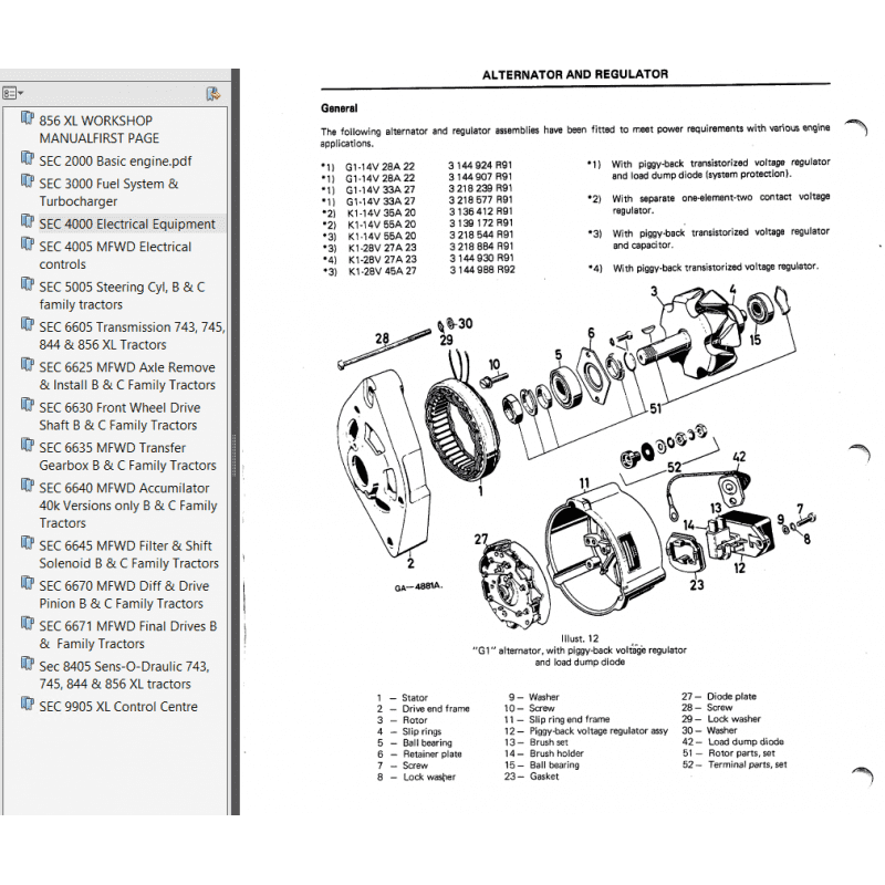 Case IH 856XL Workshop Manual PDF,  by www.repairsadviser.com