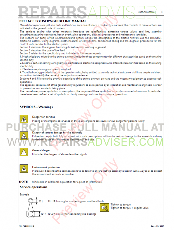 New Holland Fr 9060 Compound Turbo: Case IH 12.9L Turbo Compound Engine Repair Manual PDF Download