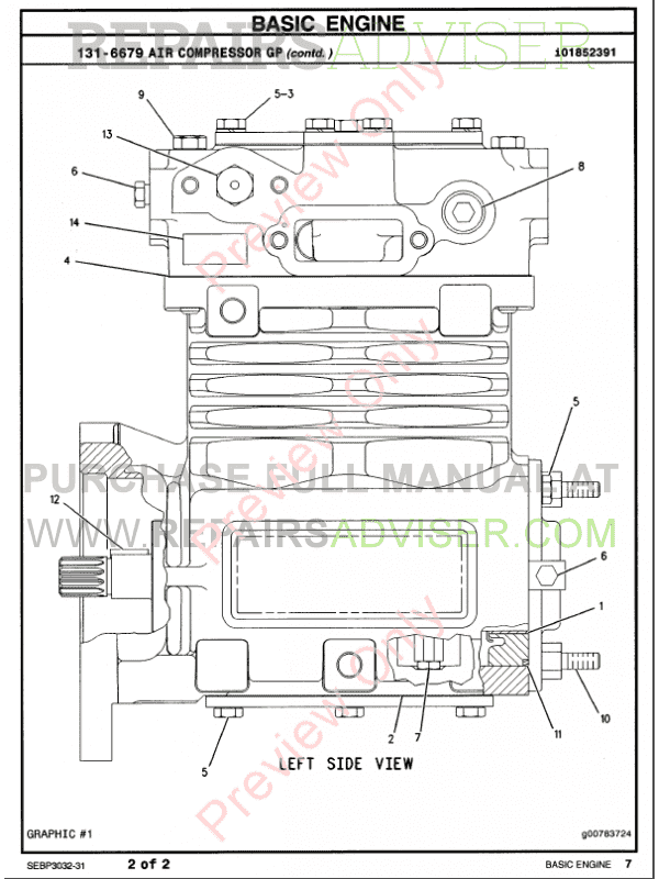 caterpillar c-15 truck engine parts manual pdf, manuals for trucks by www