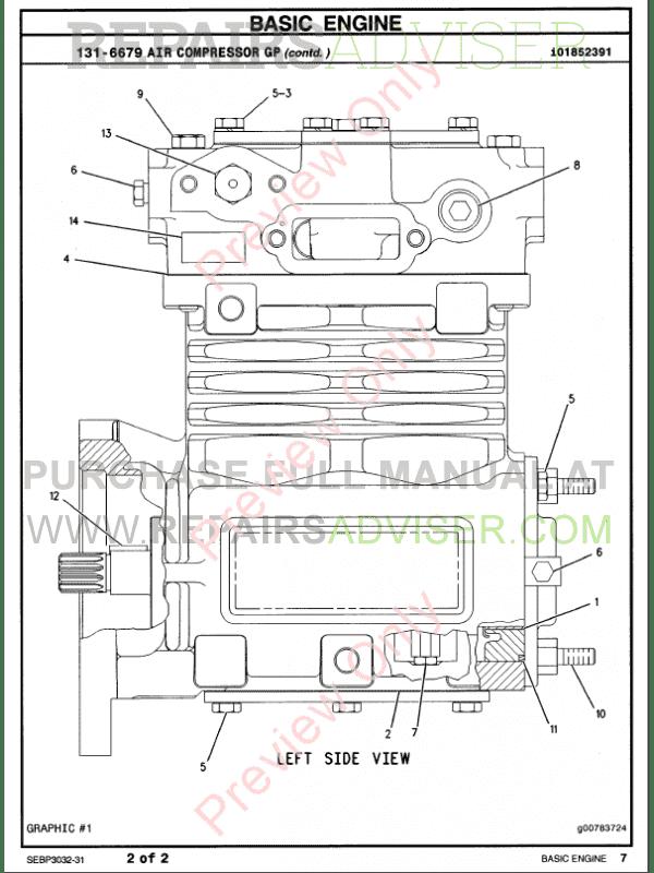 Caterpillar parts manual pdf