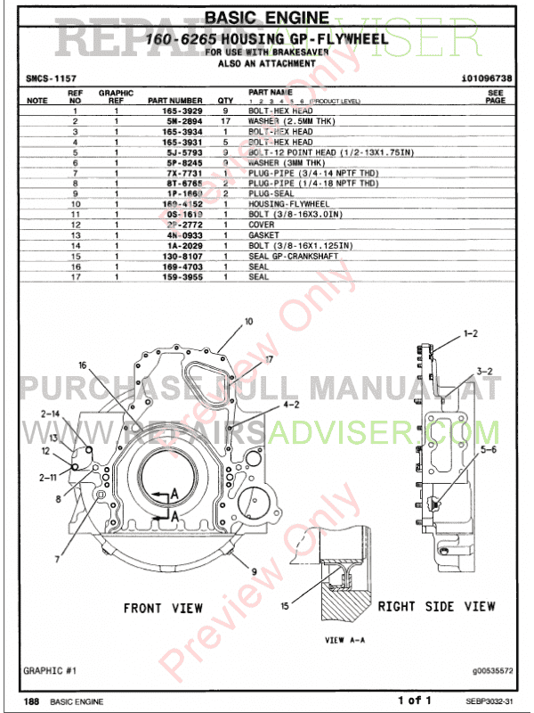 Caterpillar C-15 Truck Engine Parts Manual PDF, Manuals for Trucks by www.repairsadviser.com