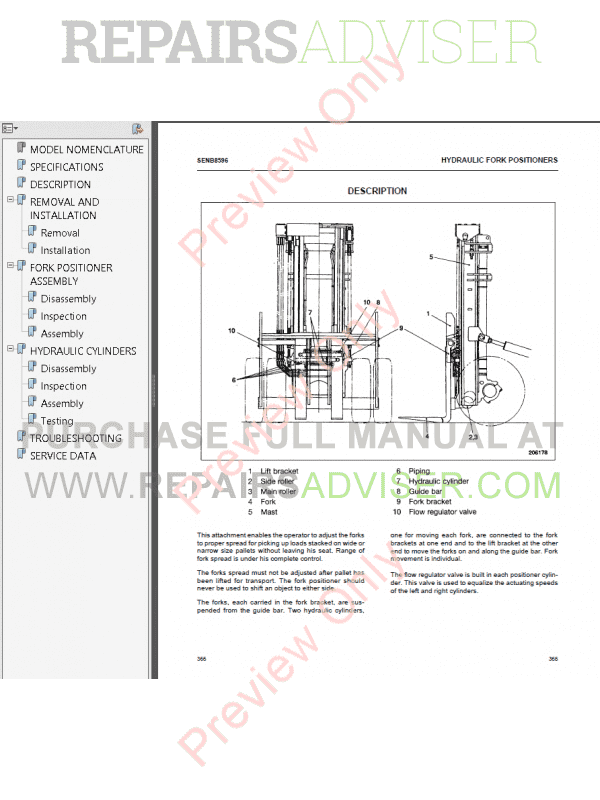 Caterpillar 6D16 Diesel Engine DP80, DP90, DP100, DP115, DP135, DP150 Lift Trucks Service Manual PDF, Caterpillar Manuals by www.repairsadviser.com
