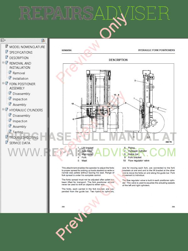 caterpillar 6d16 diesel engine dp80  dp90  dp100  dp115