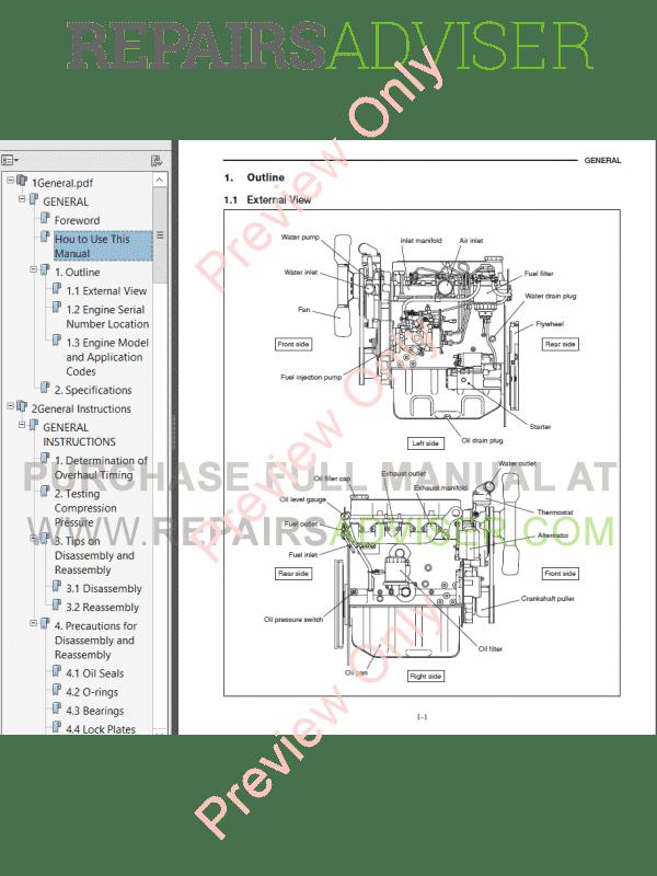 download caterpillar s4q2 diesel engine service manual pdf