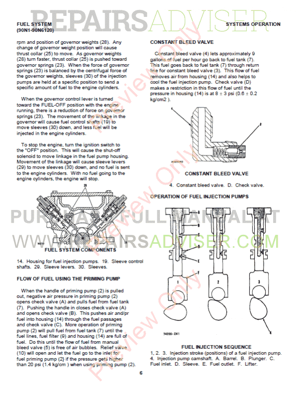 Caterpillar 3208 Industrial And Marine Engines Set Of Pdf