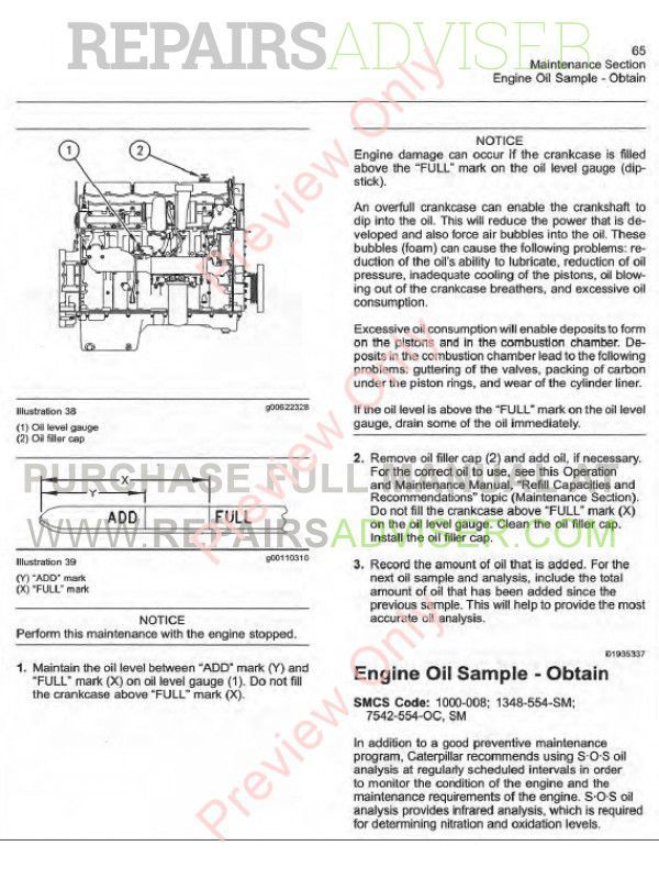 Caterpillar c7 Service manual