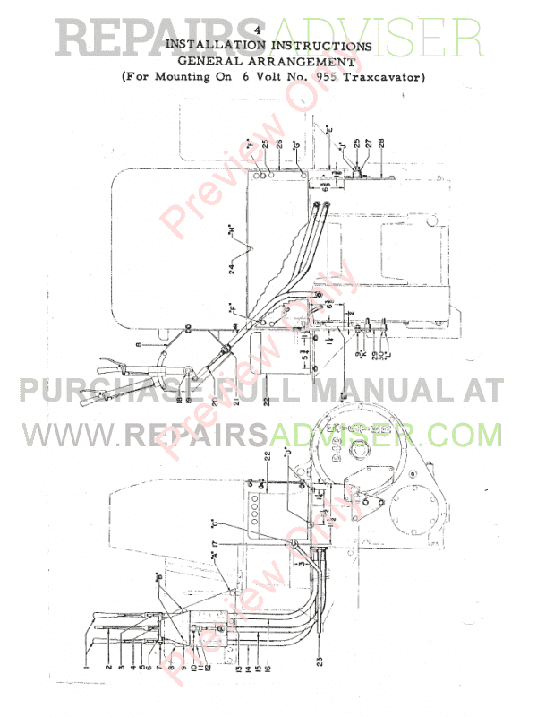Caterpillar D4 Track-Type Tractor Set of PDF Manuals Download