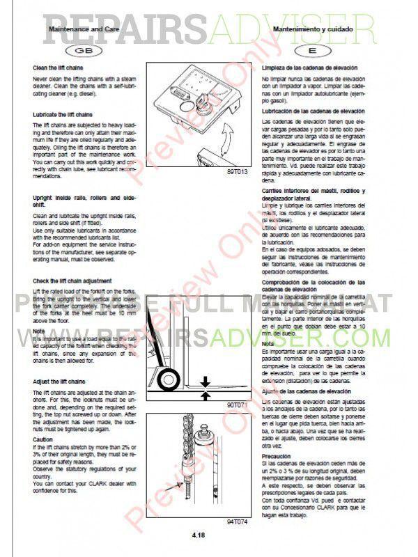 Clark forklift owners user manuals user manuals array clark cgp cdp 16 20 forklift trucks service manual pdf download rh repairsadviser com fandeluxe Gallery