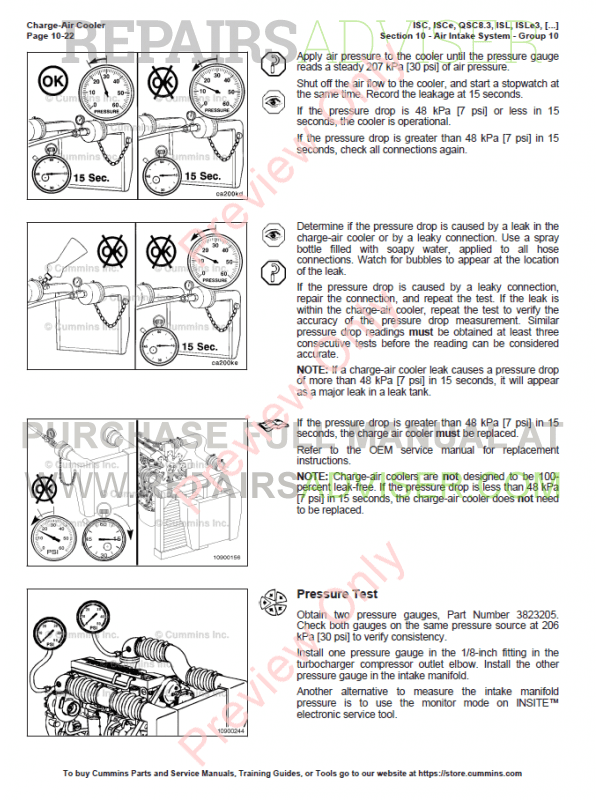 Cummins ISC, ISCe, QSC8 3, ISL, ISLe3, ISLe4, QSL9 PDF Download