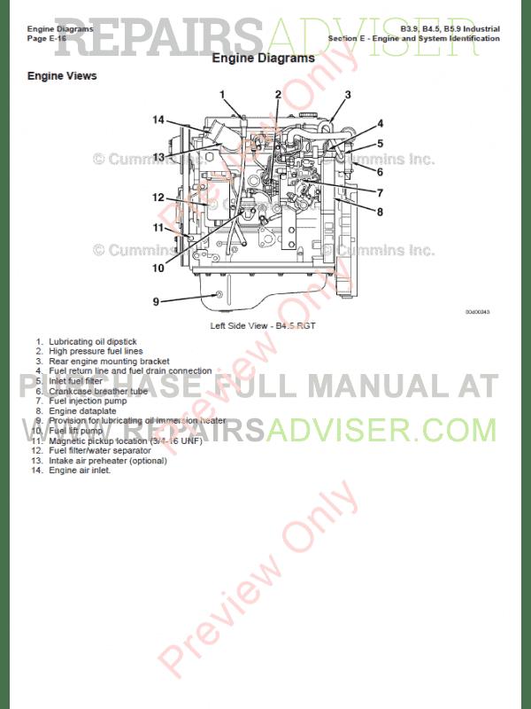 mins Industrial Engines B3.9, B4.5, B5.9 PDF Manual Download on audi rs4 engine, 2.7t engine, mazda 323 engine, 1.8t engine, b7 engine, b-series engine,