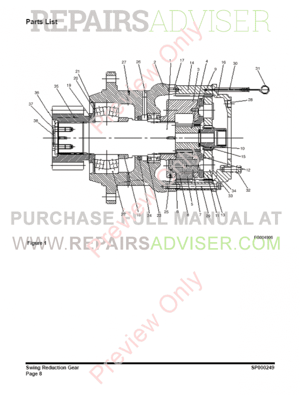 daewoo dx420lc track excavator set of pdf manuals download