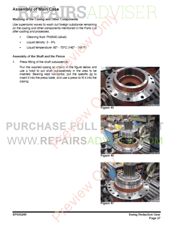 DAEWOO DX420LC Track Excavator Set of PDF Manuals, Manuals for Heavy Equip. by www.repairsadviser.com