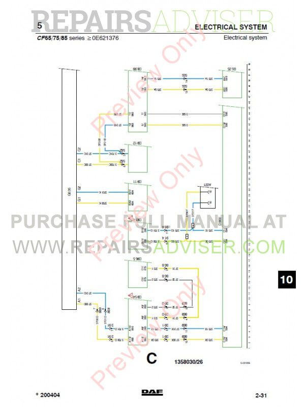 DAF_Truck_CF65_CF75_CF85_Wiring_Diagram_Manual_4 800x800 daf cf wiring diagram daf 105 full \u2022 wiring diagram database daf cf wiring diagram at edmiracle.co