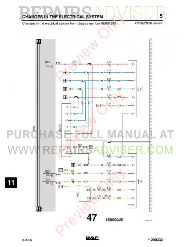 DAF_Truck_CF65_CF75_CF85_Wiring_Diagram_Manual_7 800x800 daf wiring diagram wiring diagrams daf cf wiring diagram at edmiracle.co