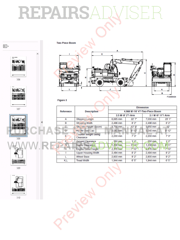 doosan daewoo excavator dx140w  dx160w shop manual pdf download