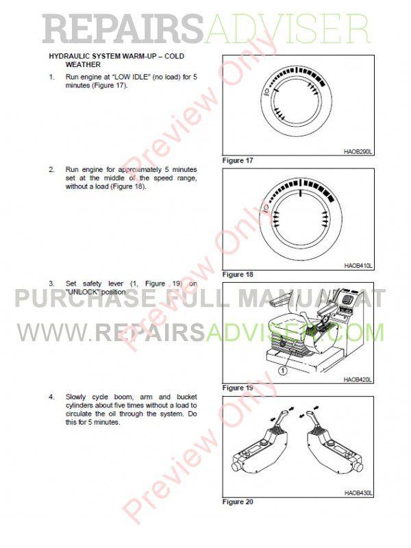 Daewoo Daios Doosan Solar Series Track Excavators Set of PDF Manuals on