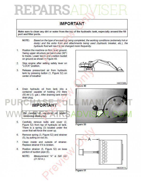 daewoo daios doosan solar series track excavators set of pdf manuals,  manuals for heavy equip