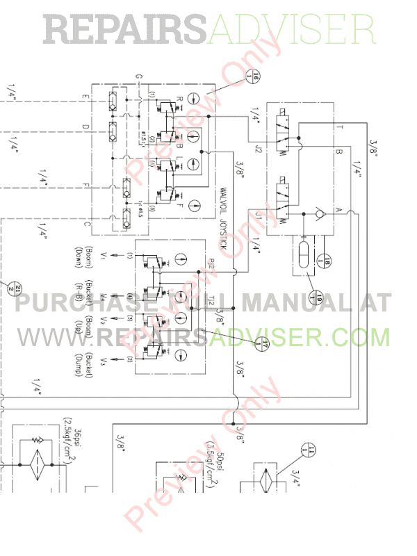 Daewoo Doosan 430 Plus Skid Steer Loader Set Schematics of PDF, Manuals for Heavy Equip. by www.repairsadviser.com