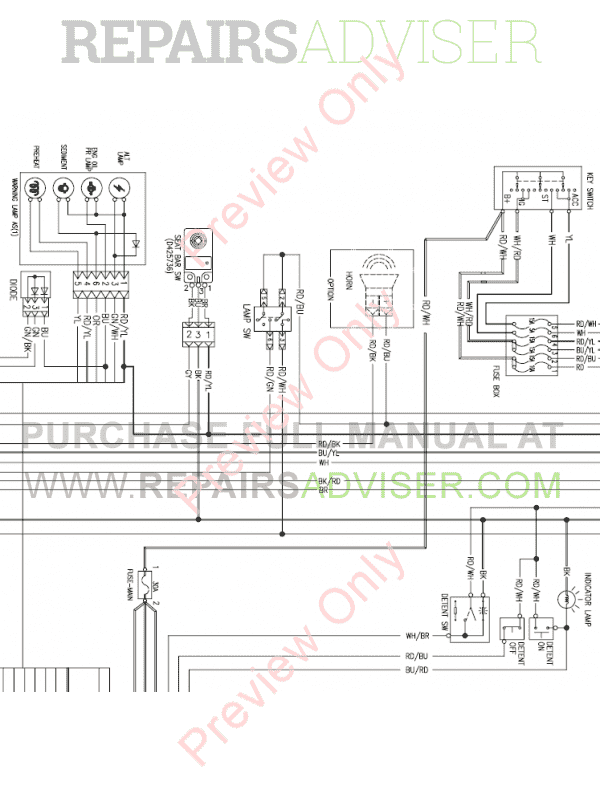 Daewoo    Doosan 460 Plus Skid Steer Loader Set    Schematics    of PDF Download