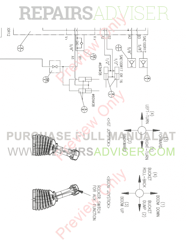 Daewoo Doosan 470 Plus Skid Steer Loader Set Schematics of PDF, Manuals for Heavy Equip. by www.repairsadviser.com