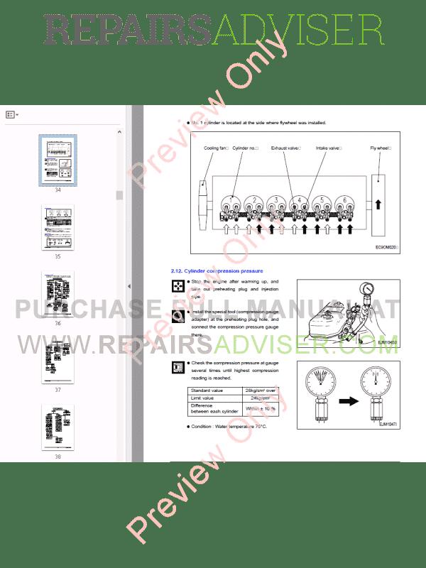 daewoo doosan db58  58s  58t  58ti  58tis diesel engine pdf
