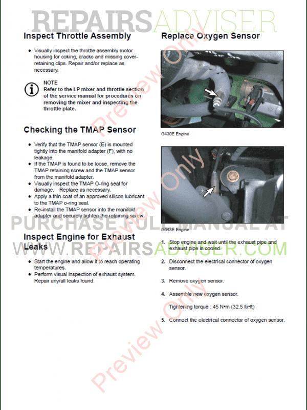 Brilliant Daewoo G430E G643E Lpg Engine Lift Trucks Service Manual Of Pdf Download Wiring Digital Resources Hutpapmognl