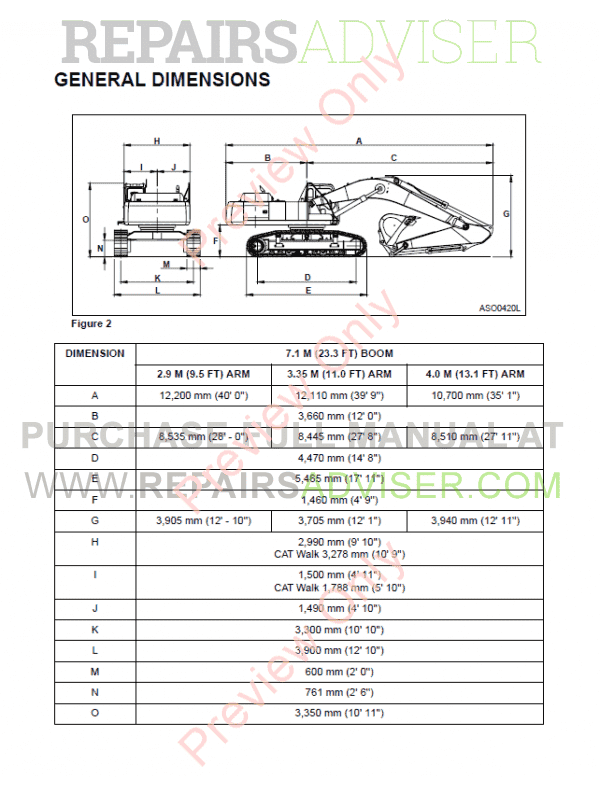 Daewoo Solar 470LC-V Track Excavator Set of PDF Manuals, Manuals for Heavy Equip. by www.repairsadviser.com