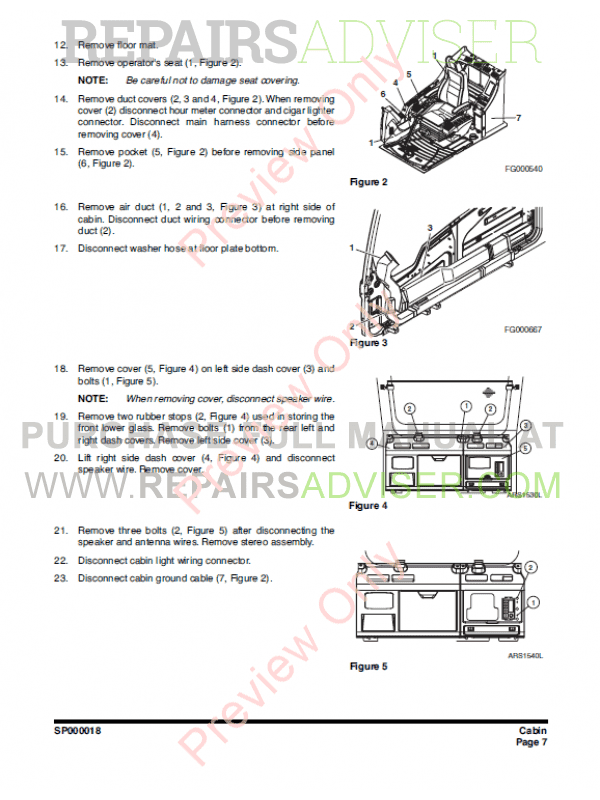 Daios Doosan DX300LC Track Excavator Workshop Manual PDF, Manuals for Heavy Equip. by www.repairsadviser.com