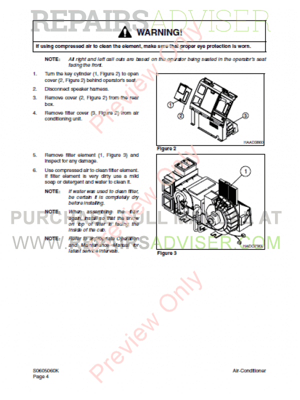 Daios Doosan Solar 225LC-V Excavator Set of PDF Manuals, Manuals for Heavy Equip. by www.repairsadviser.com
