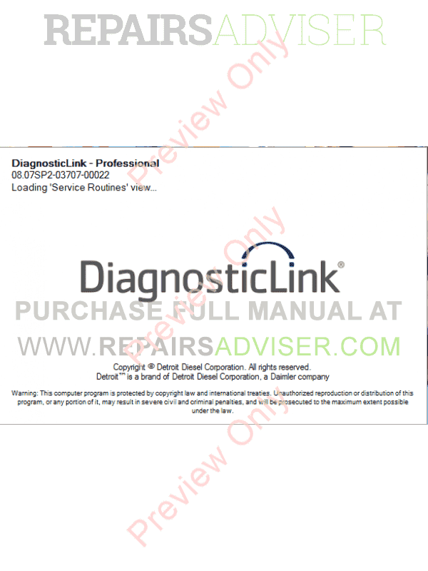 detroit diesel software requirements