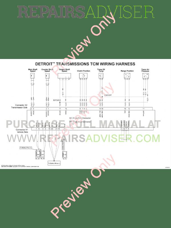 Detroit Diesel Wiring Diagrams All Years Download