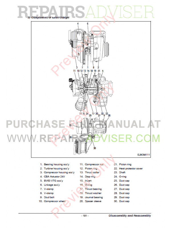 Doosan DL08K Tier4 Interim Diesel Engine for Industrial Set of PDF Manuals, Manuals for Heavy Equip. by www.repairsadviser.com