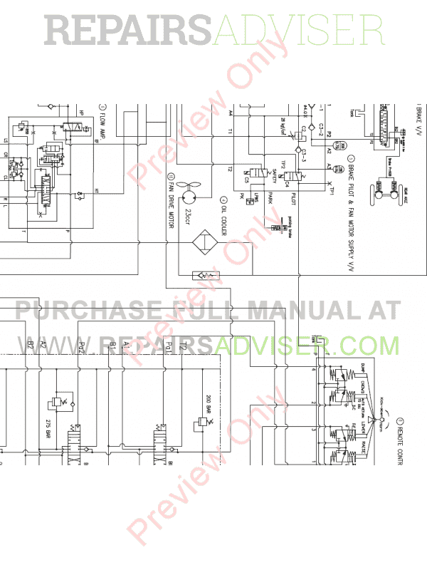 Doosan DL300 Wheel Loader Schemes Set of PDF, Manuals for Heavy Equip. by www.repairsadviser.com
