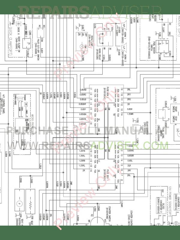 Doosan DX160LC3 Crawler    Excavator       Wiring       Diagram    of PDF Download