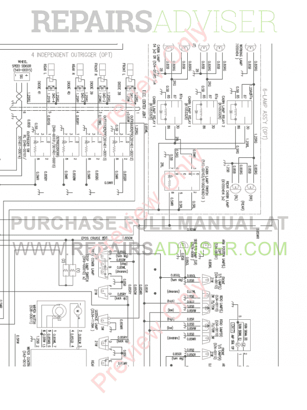 doosan dx160w wheel excavator wiring diagram of pdf download