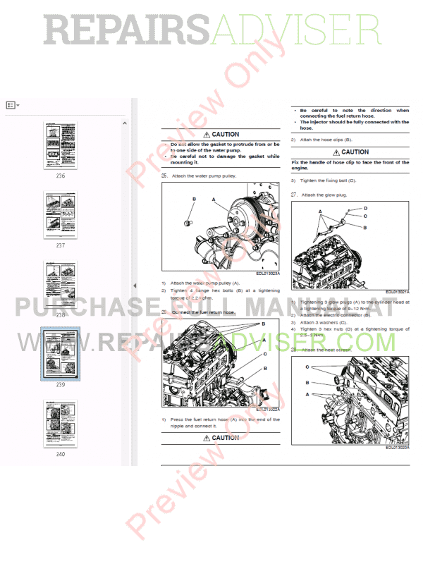 daewoo db33a engine manual