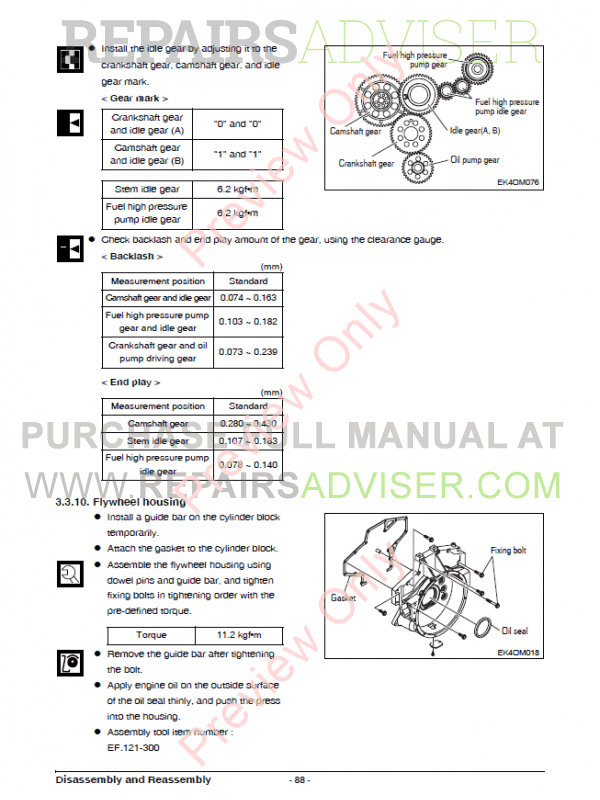 Doosan Diesel Engine DL06K Tier4 Interim Operation and Maintenance Manual PDF, Manuals for Heavy Equip. by www.repairsadviser.com
