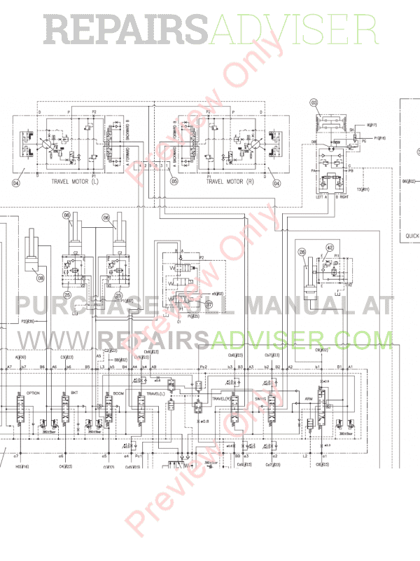 Doosan Excavator DX380LC-3 Schemes Set of PDF, Manuals for Heavy Equip. by www.repairsadviser.com