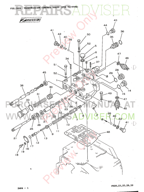 Komatsu Fd20 30 10fd20s 30 5fd20 30 7 Parts Book Pdf Download