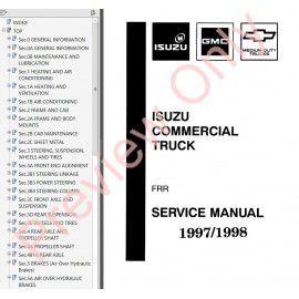 Isuzu 4hf1 Workshop Manual