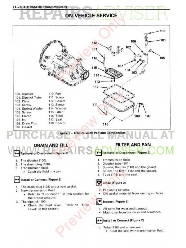 Isuzu Commercial Truck Frr  W5  U0026 Frr  Ftr  Fvr  6hk1  Service Manual Pdf Download