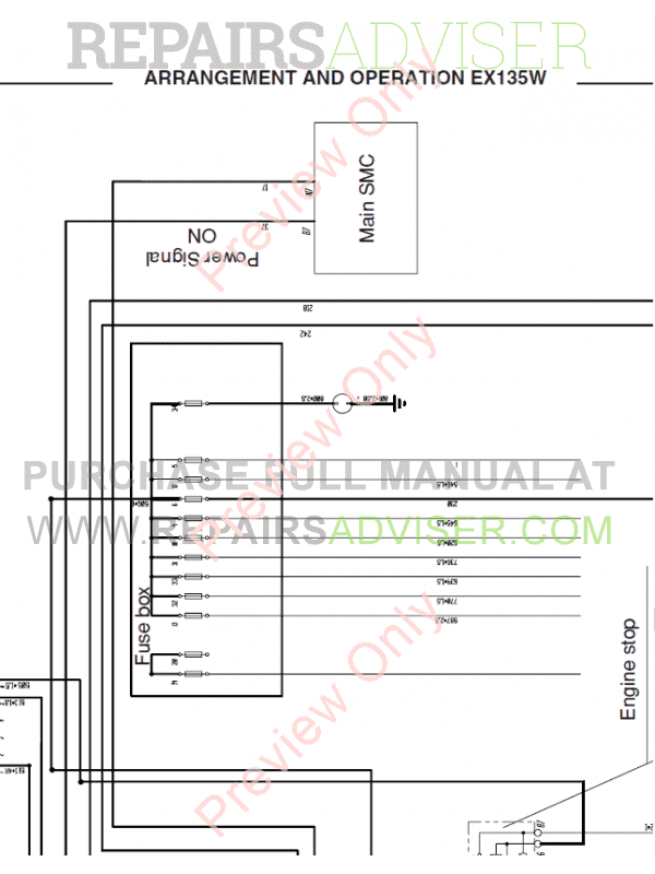 Fiat Hitachi Excavators EX135W Workshop Manual PDF, Manuals for Heavy Equip. by www.repairsadviser.com