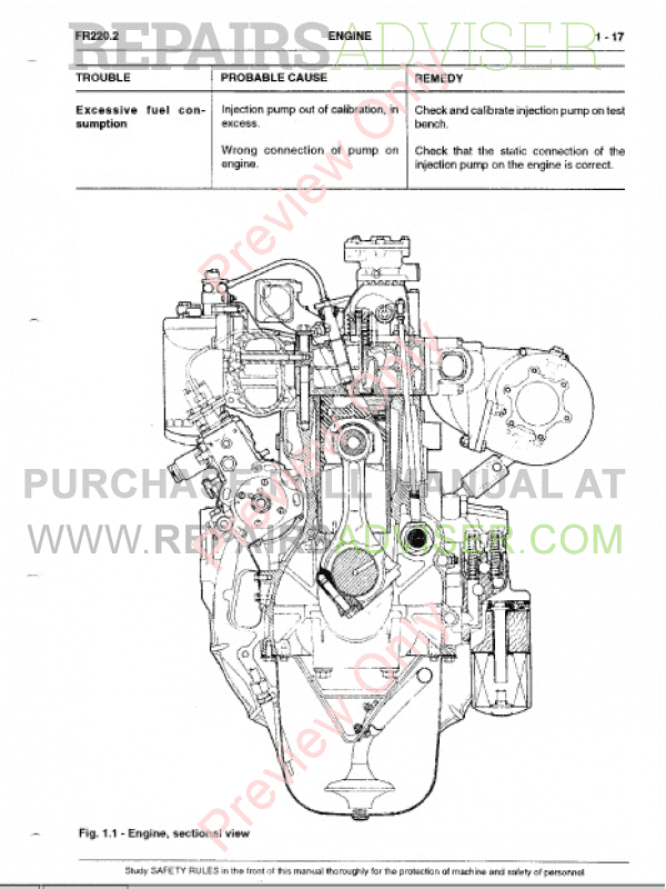 FiatAllis FR220.2 Wheel Loader Operation and Maintenance Instruction + Service Manual PDF, Fiatallis Manuals by www.repairsadviser.com