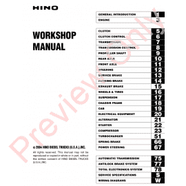 hino 500 series workshop manual