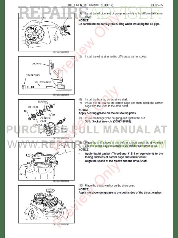 Hino FC6/9J FM1A/2P FD/FG/GH/FL/FM/SG/G/FT8J Workshop Manual