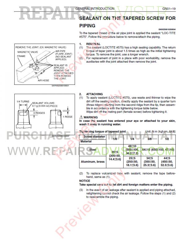 Hino Trucks 238, 258LP, 268, 338, 358 2011-2013 Manuals Download