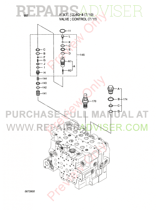 Hitachi EX100-5, EX100M-5, EX110M-5, EX100-5E Equipment Components Parts Catalog PDF, Hitachi Manuals by www.repairsadviser.com