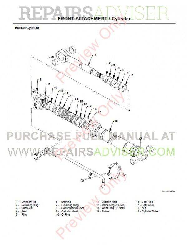 Hitachi EX300-5, EX300LC-5, EX330LC-5, EX350H-5, EX350LCH-5, EX370-5, EX370HD-5 Technical & Workshop Manuals PDF, Hitachi Manuals by www.repairsadviser.com