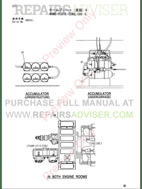 Hitachi Excavator Parts Manual Pdf on