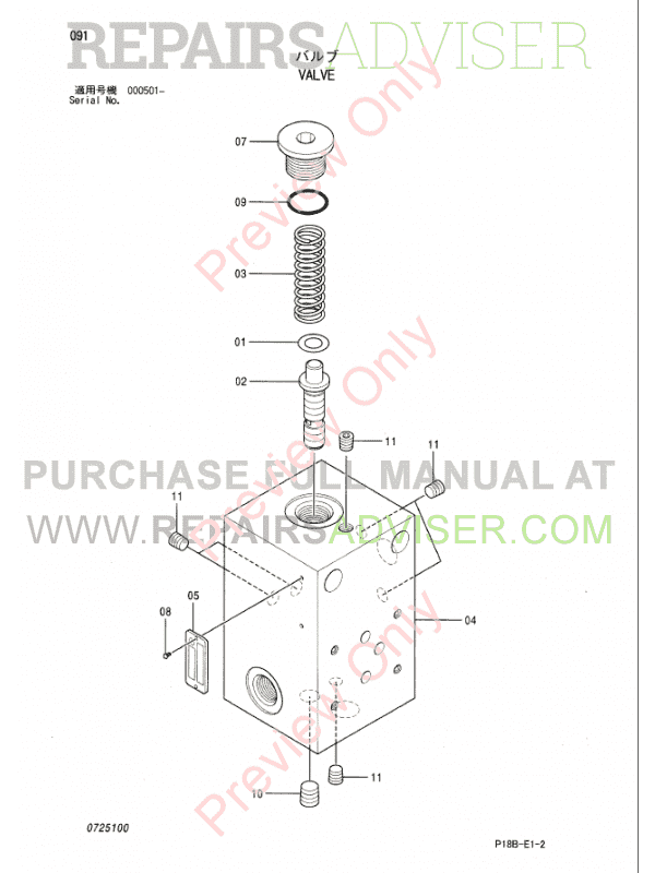 Hitachi EX5500-5 Equipment Components Parts Catalog PDF, Hitachi Manuals by www.repairsadviser.com